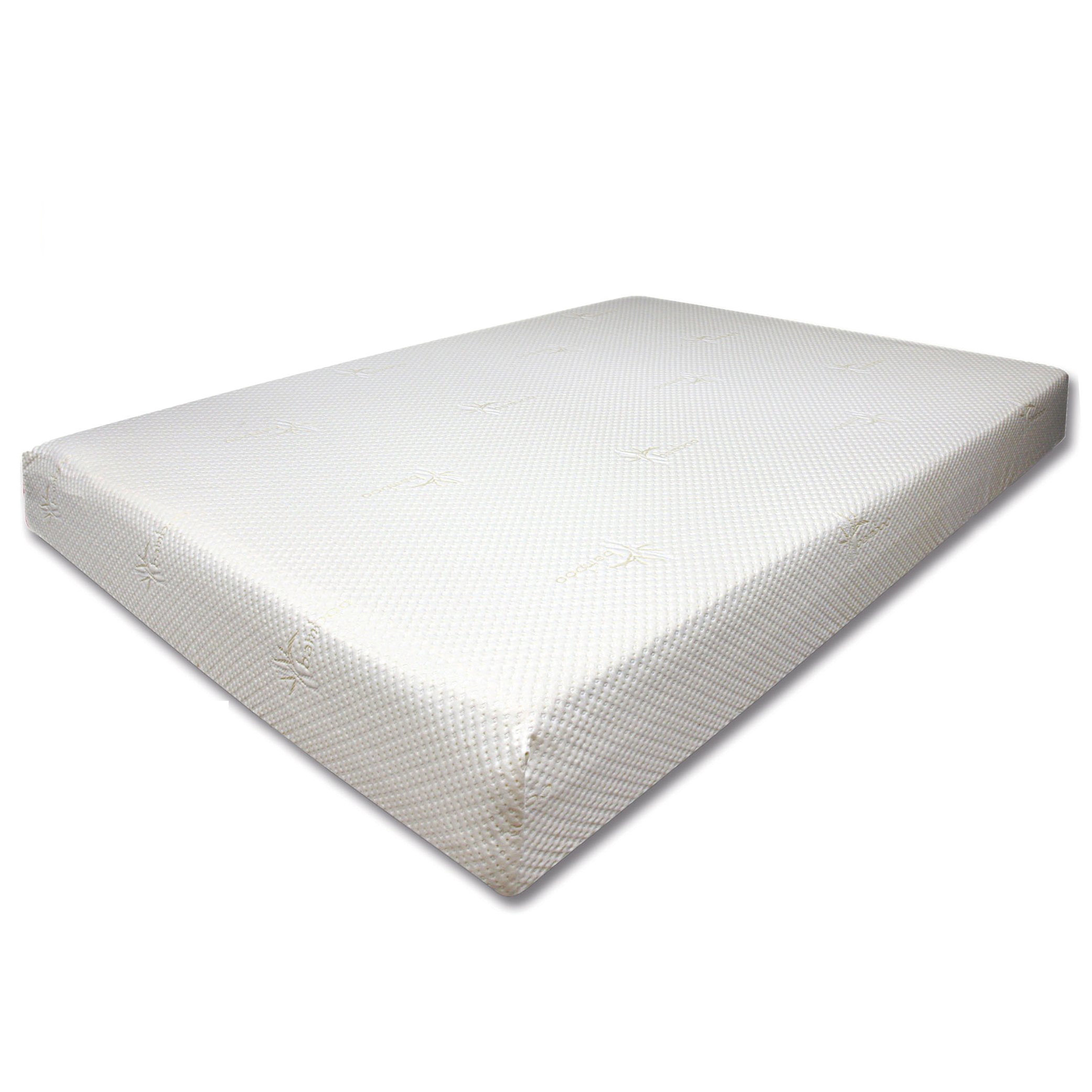 shop dreamax therapeutic high density 10 inch full size memory foam mattress free shipping today overstock com 8859260