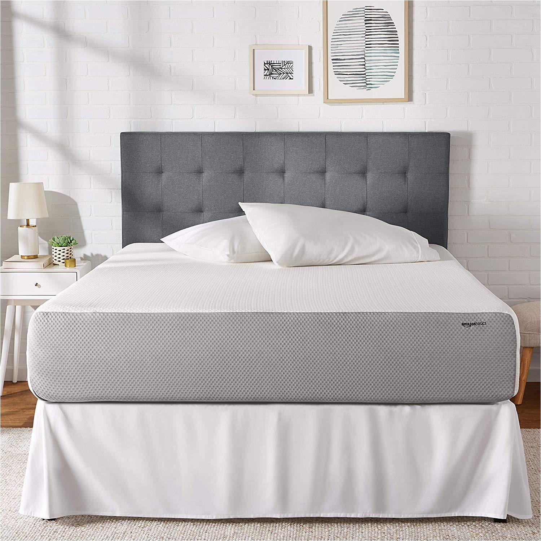 amazon com amazonbasics memory foam mattress soft plush feel certipur us certified 12 inch king kitchen dining