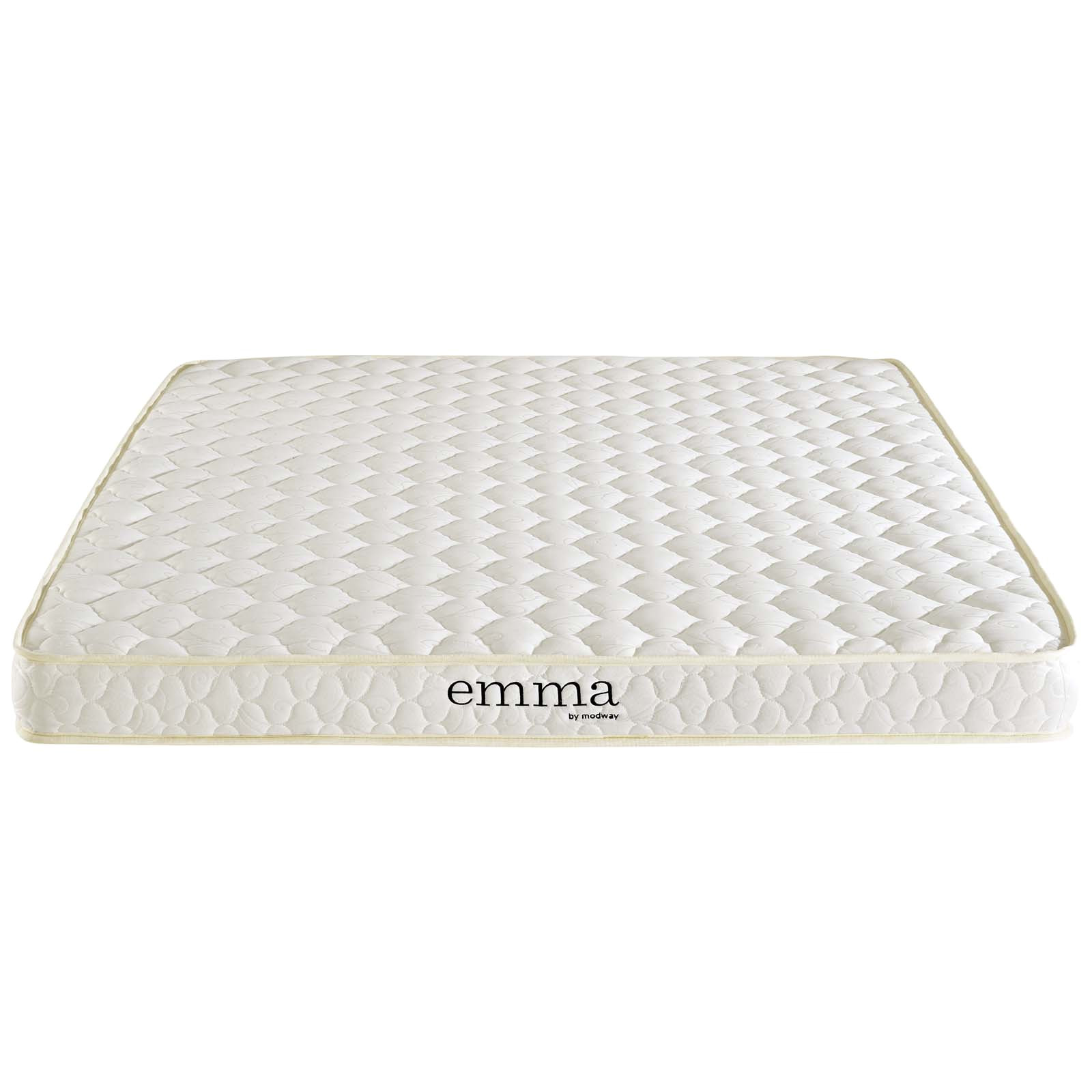 modway emma 6 two layer memory foam mattress multiple sizes walmart com