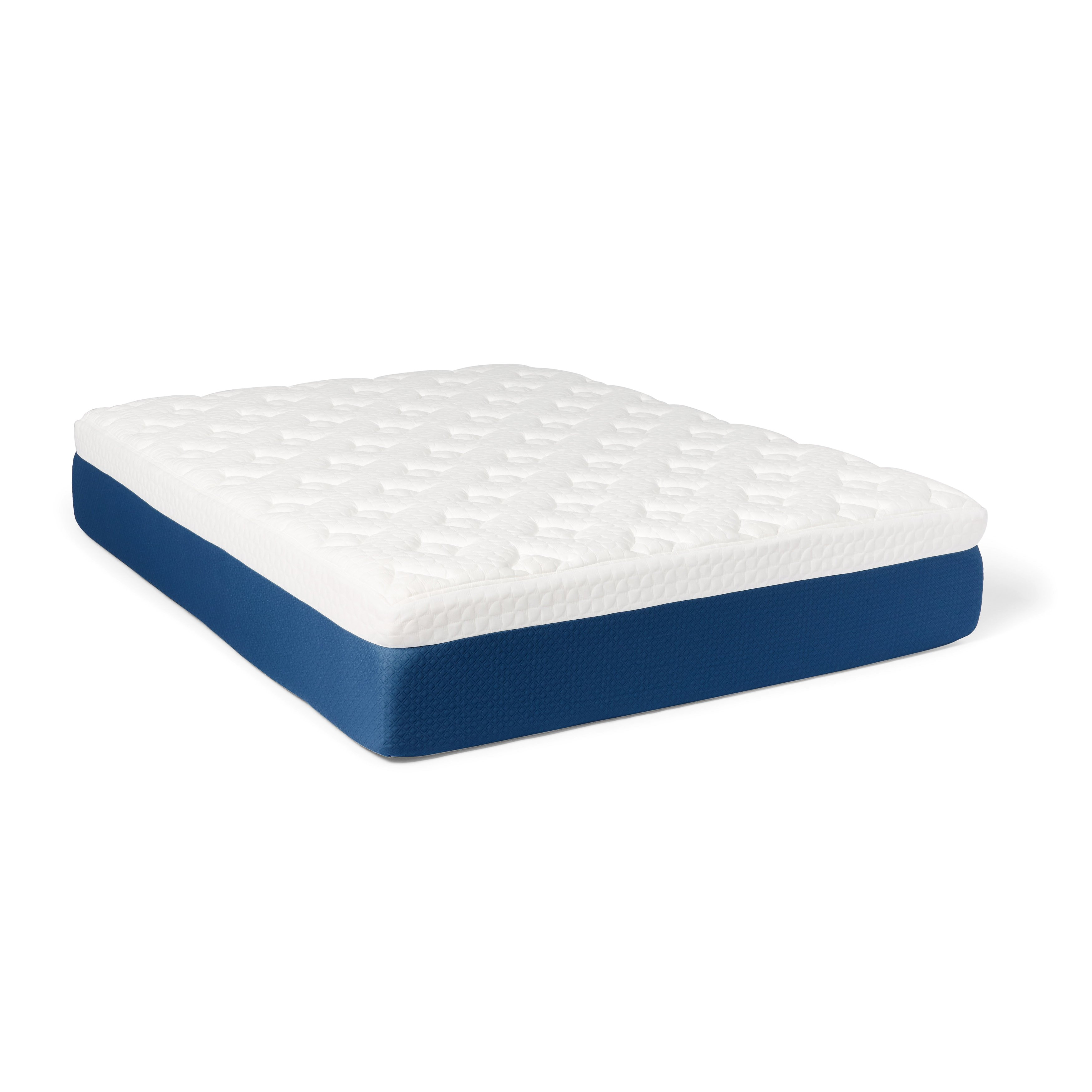 shop select luxury 14 inch queen size quilted airflow gel memory foam mattress on sale free shipping today overstock com 14404461
