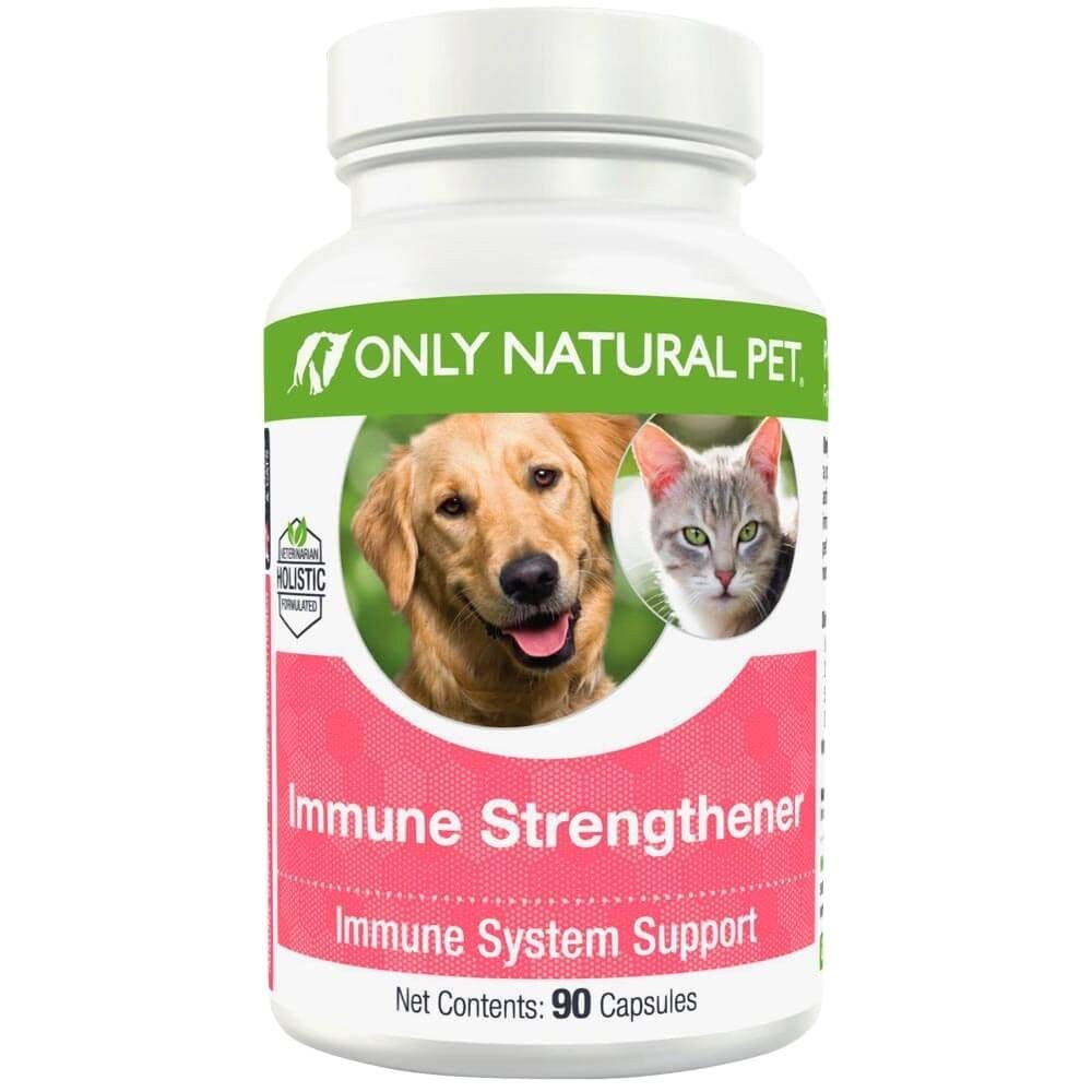 How to Euthanize A Dog with Benadryl Amazon Com Only Natural Pet Immune Strengthener Pet Supplies