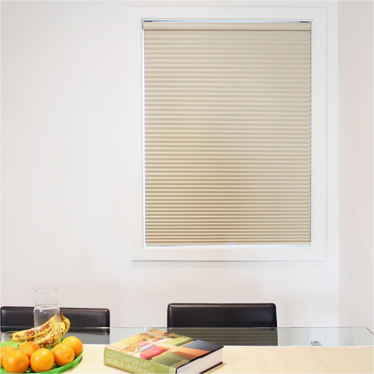 amazon com chicology cordless cellular shade blackout fabric secret tapioca beige 36 x72 home kitchen