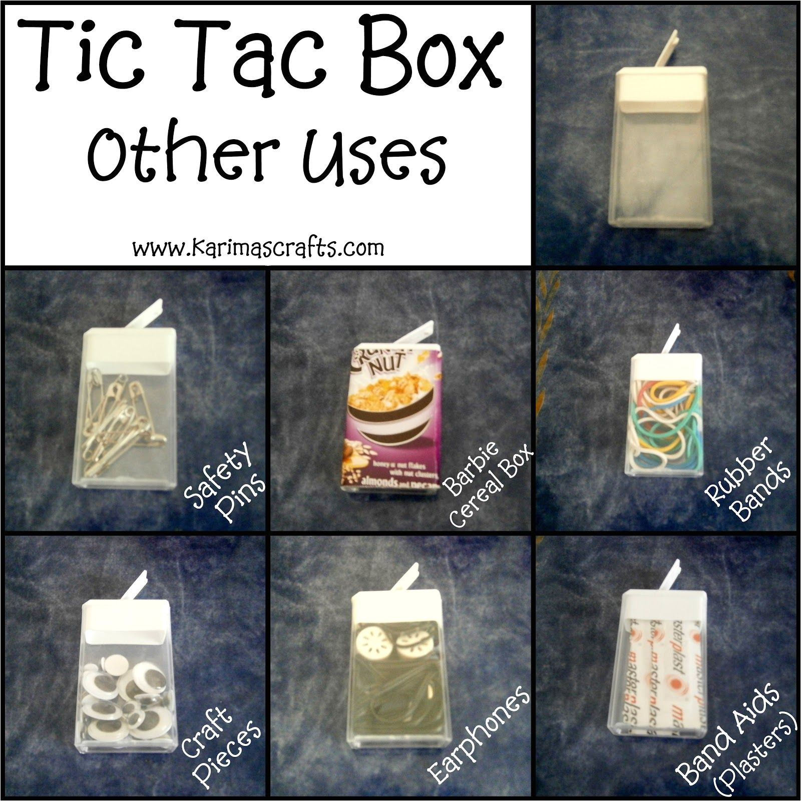 karima s crafts tic tac box uses great ideas