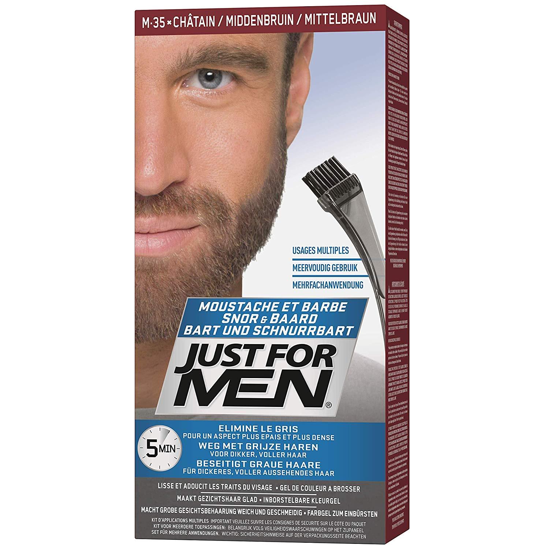 How to Make Beard Hair soft Like Head Hair Just for Men M35 Moustache and Beard Facial Hair Color Medium
