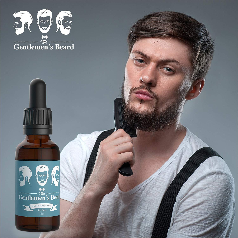 the gentlemen s beard bay rum beard oil 1 oz amazon in health personal care