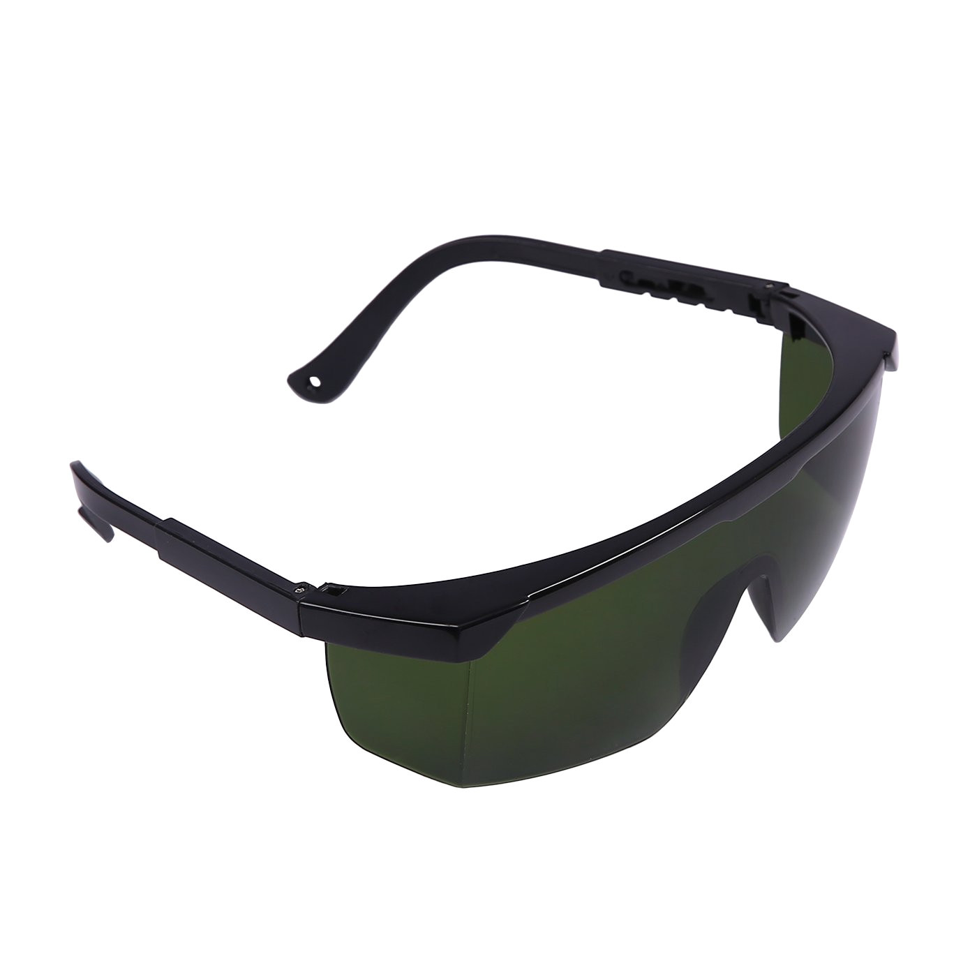 hde laser eye protection safety glasses for red and uv lasers with case green laser safety goggles amazon com