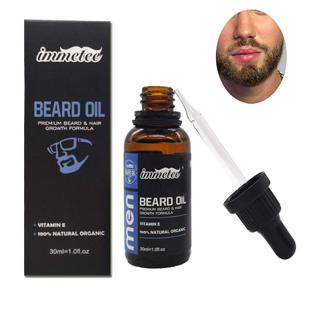 amazon com beard oil for men 1oz beard growth oil sandalwood beard growth products for facial hair growth beauty