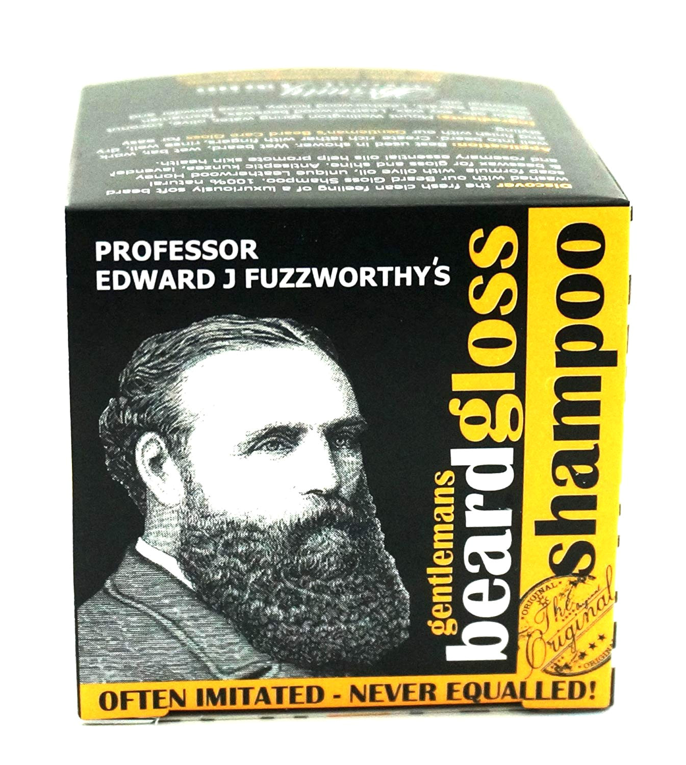 amazon com professor fuzzworthy s beard shampoo with all natural oils from tasmania australia 125gm beauty