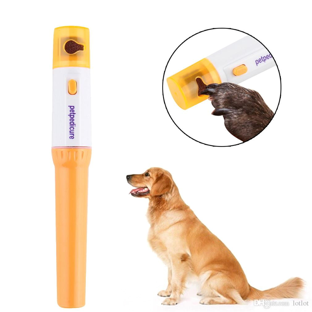 pet dog cat nail grooming grinder trimmer clipper electric nail file kit cat and dog electric nail clipper full automatic pet nail clipper cat nail tool