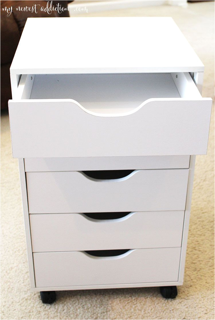 Ikea Alex Drawer Desk Dupe Perfect Makeup Storage From Micheals Ikea Alex Drawers Dupe Http
