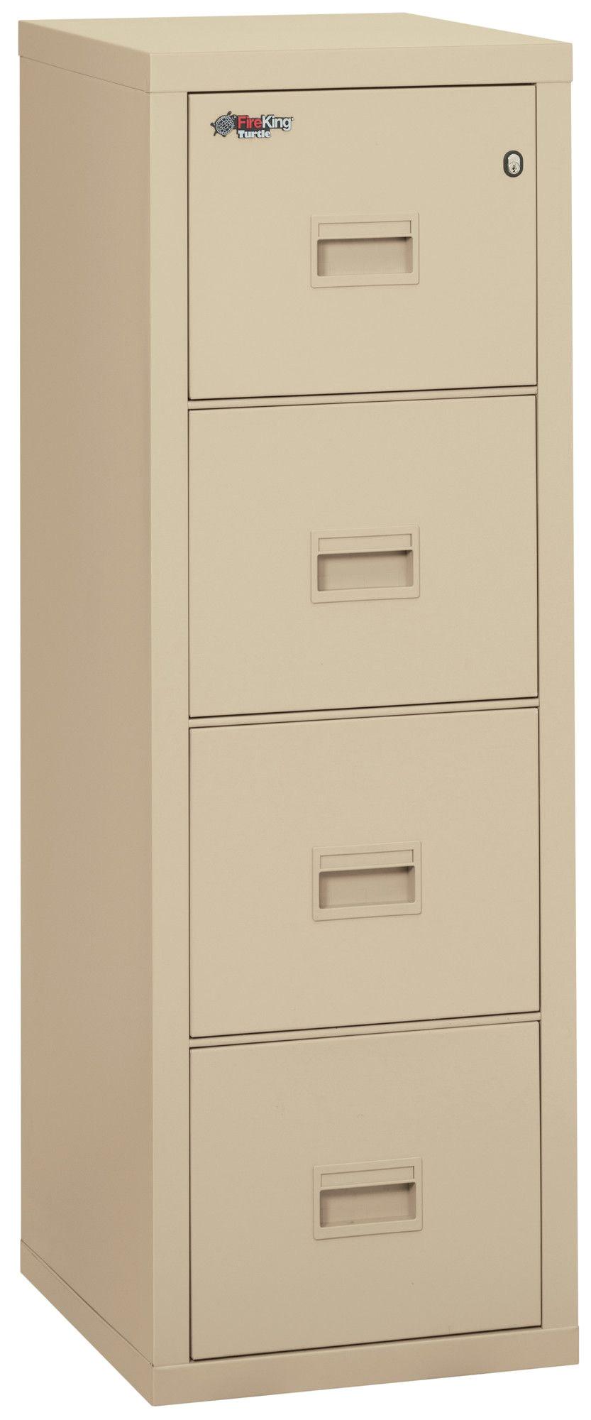 turtle fireproof 4 drawer vertical file cabinet