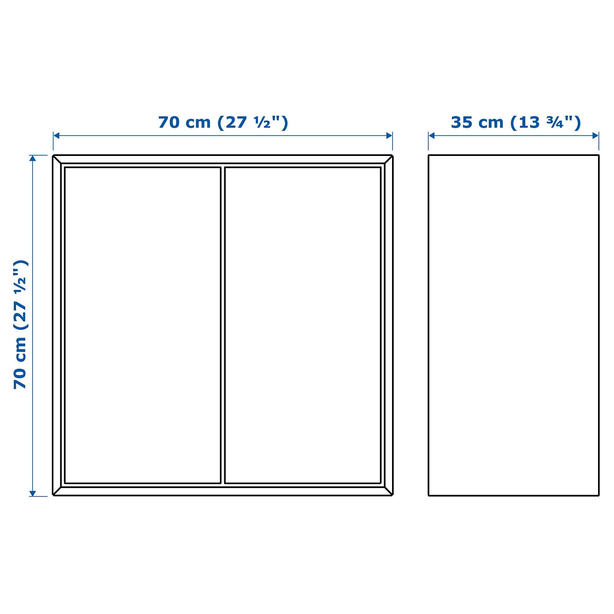 ikea eket cabinet w 2 doors and 1 shelf