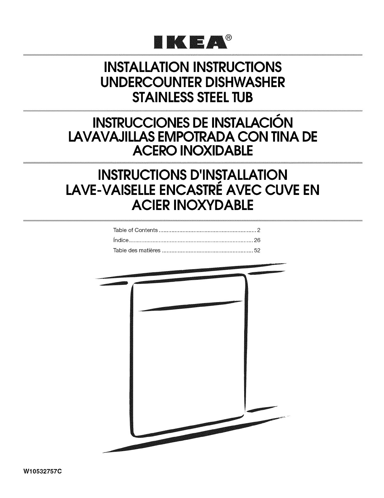 kea a installationinstructions undercounterdishwasher