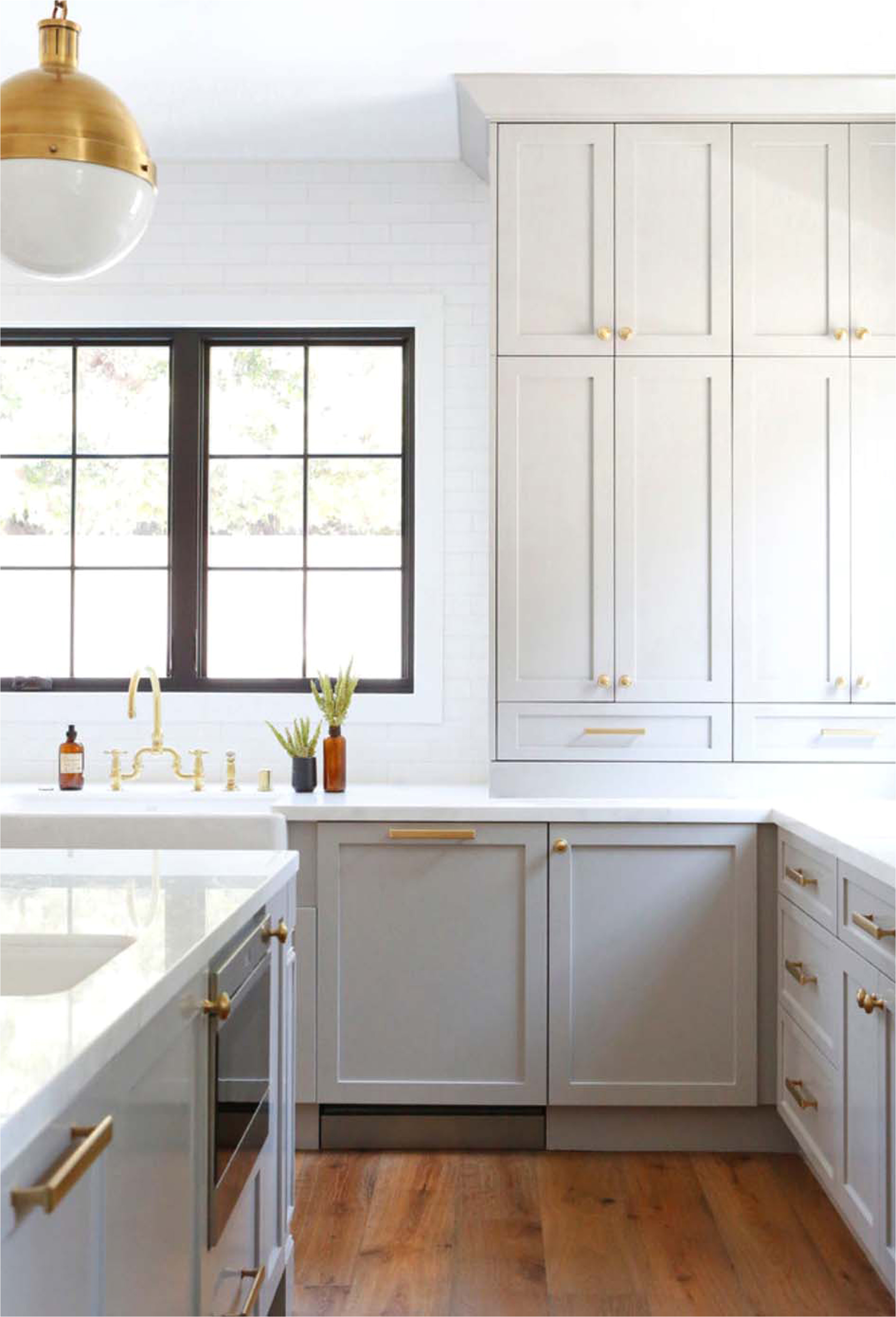 emily henderson modern tudor kitchen what i would have done intergrated 8