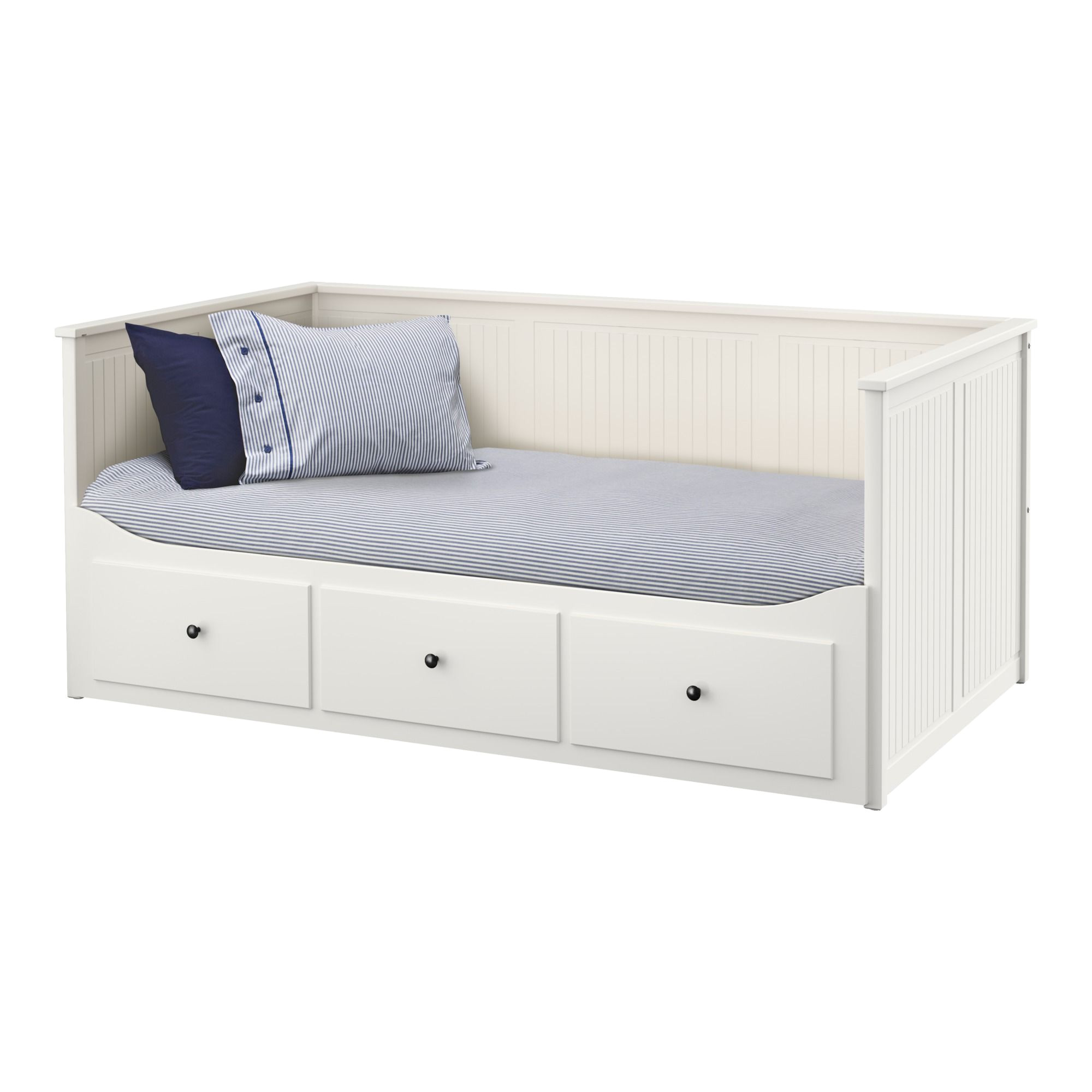 ikea hemnes daybed frame with 3 drawers four functions sofa single bed double bed and storage solution