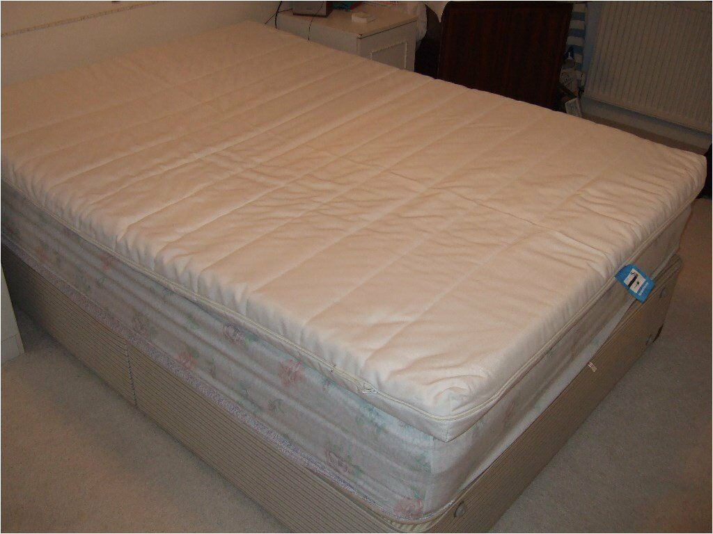 ikea foam mattress cover for a double bed used only for