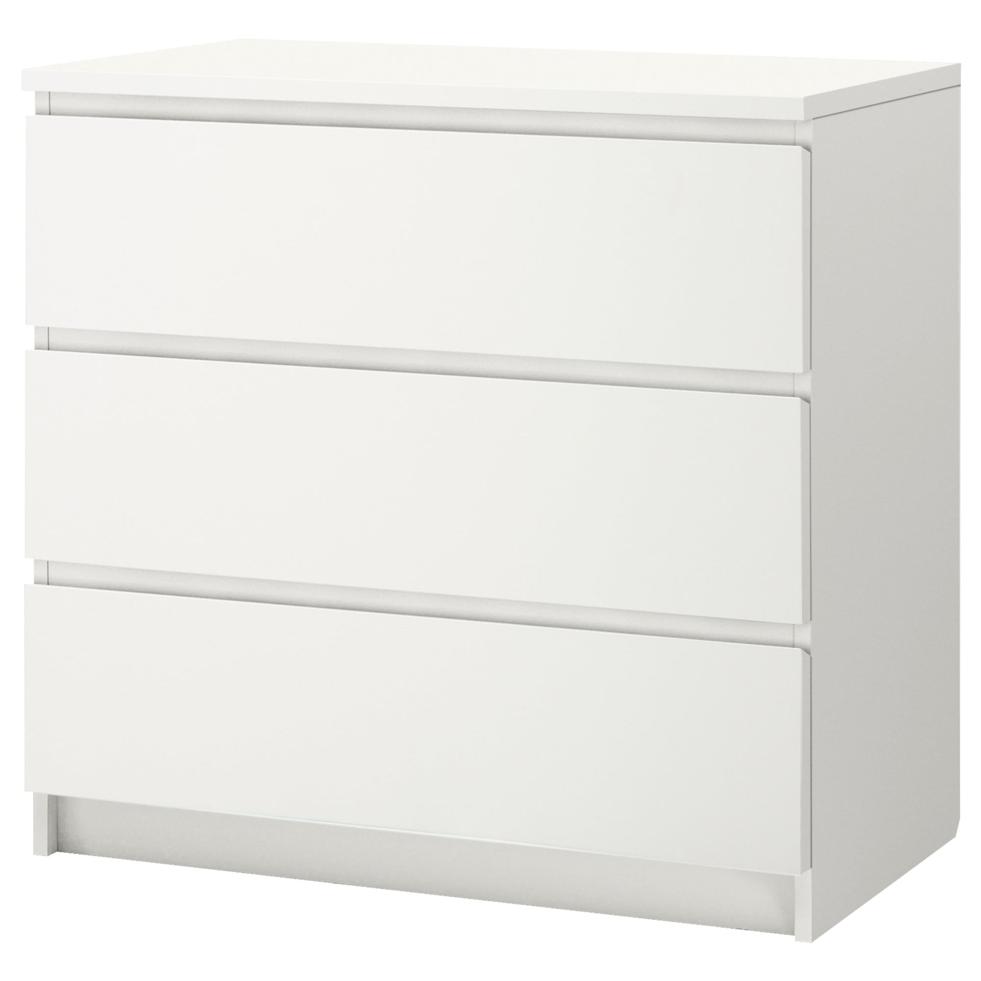 Ikea Malm Storage Bed Review Malm Chest Of 3 Drawers White 80 X 78 Cm Ikea