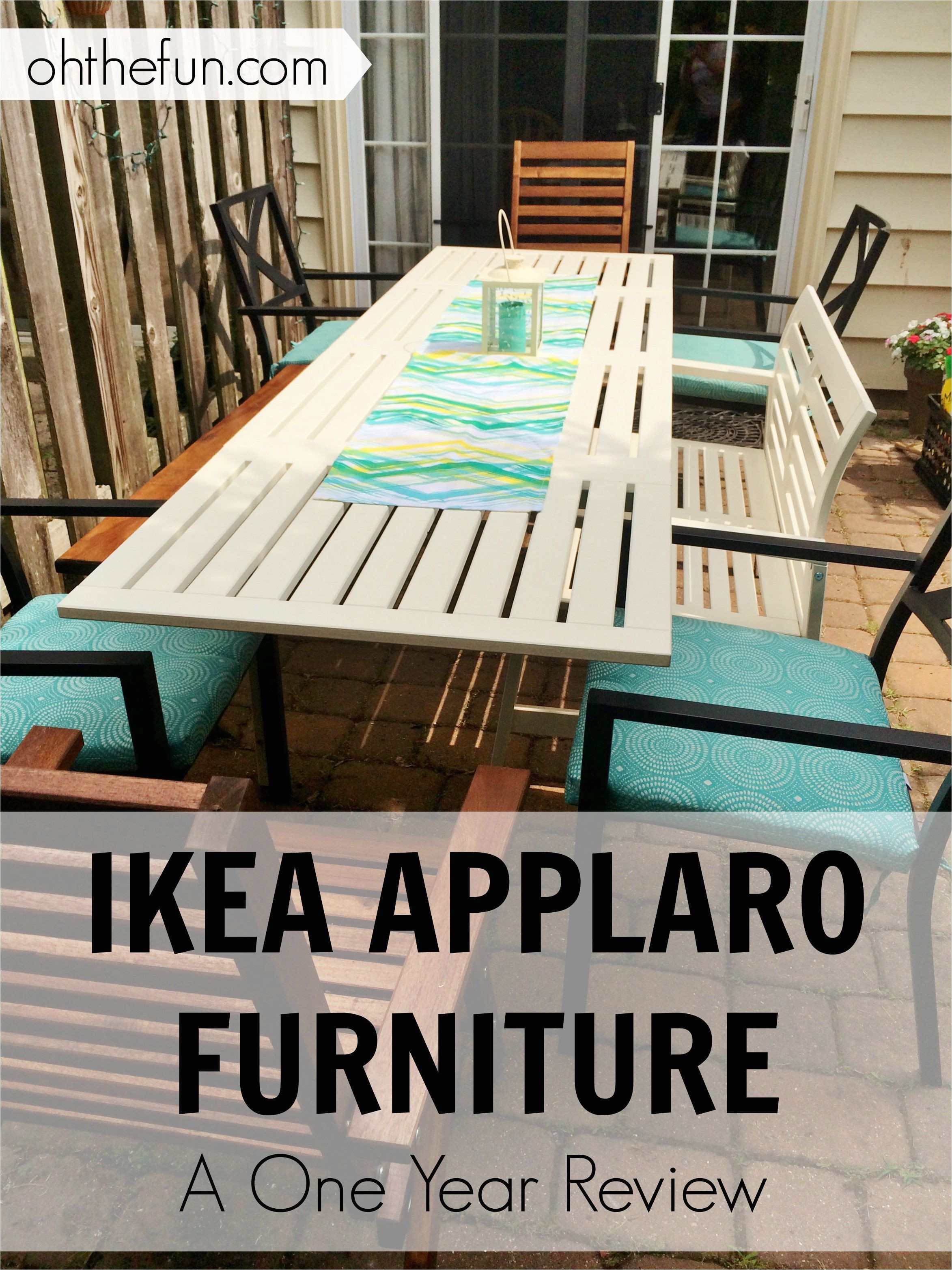 ikea applaro furniture a one year review on the blog