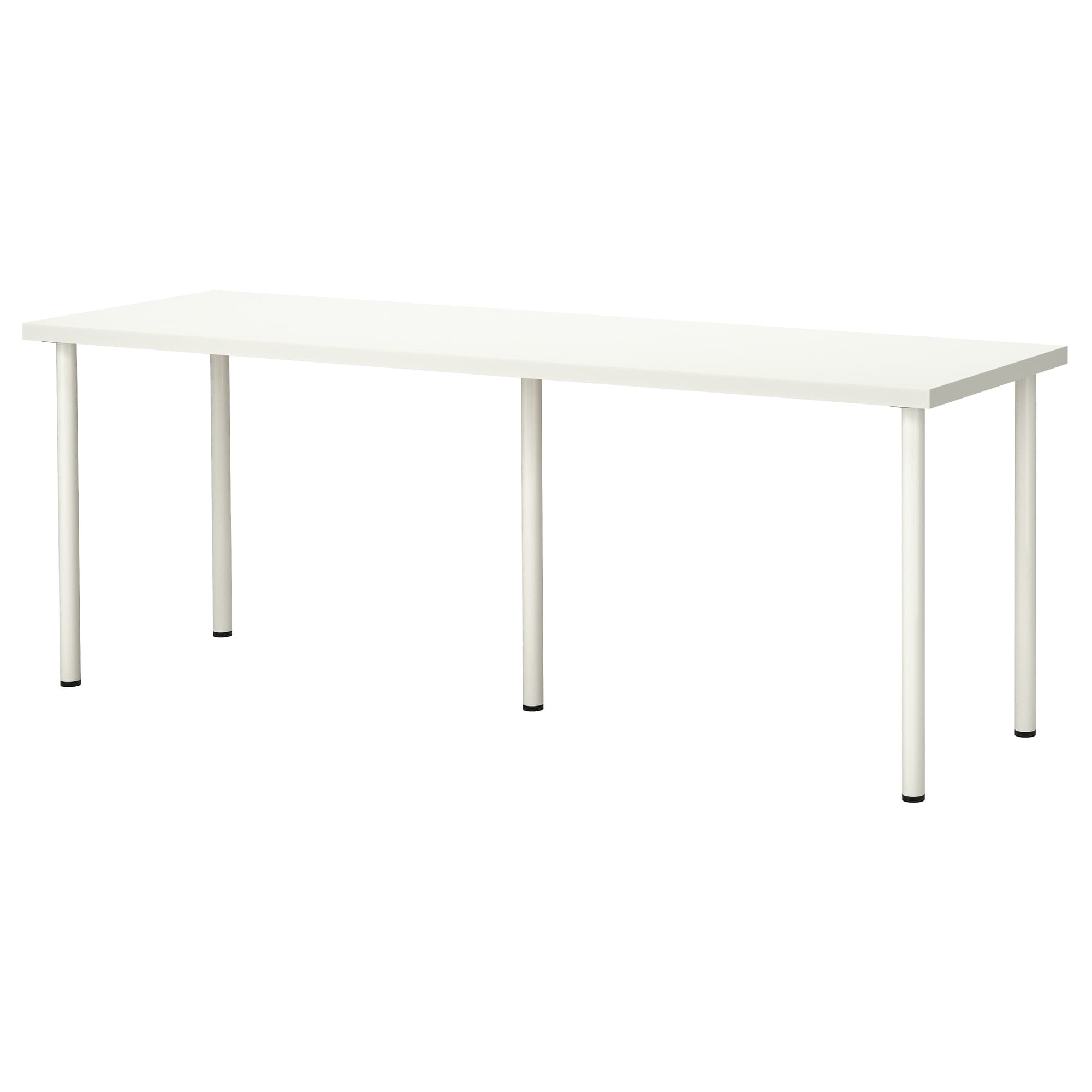 ikea adils linnmon table a long table top makes it easy to create a workspace