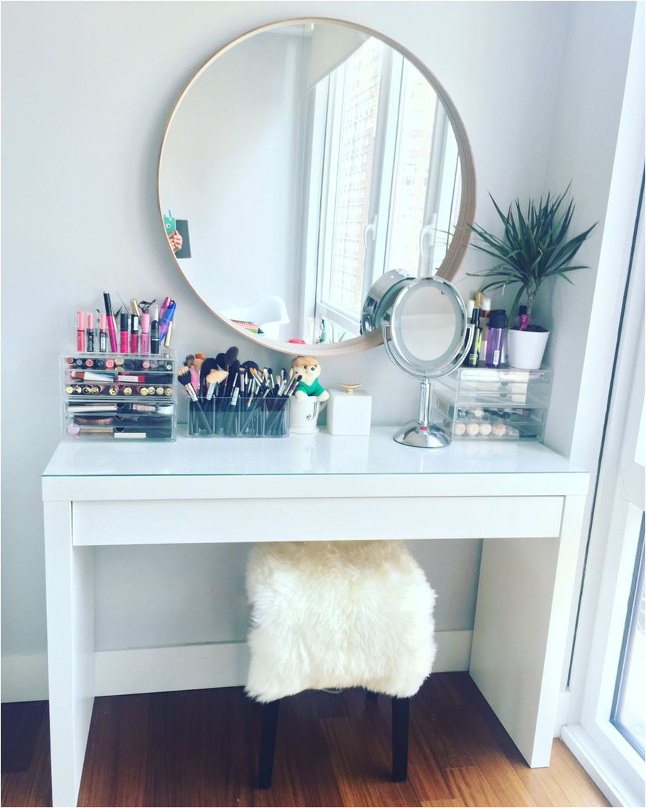makeup vanity table by ikea ikea malm dressing table with ikea stool and mirror