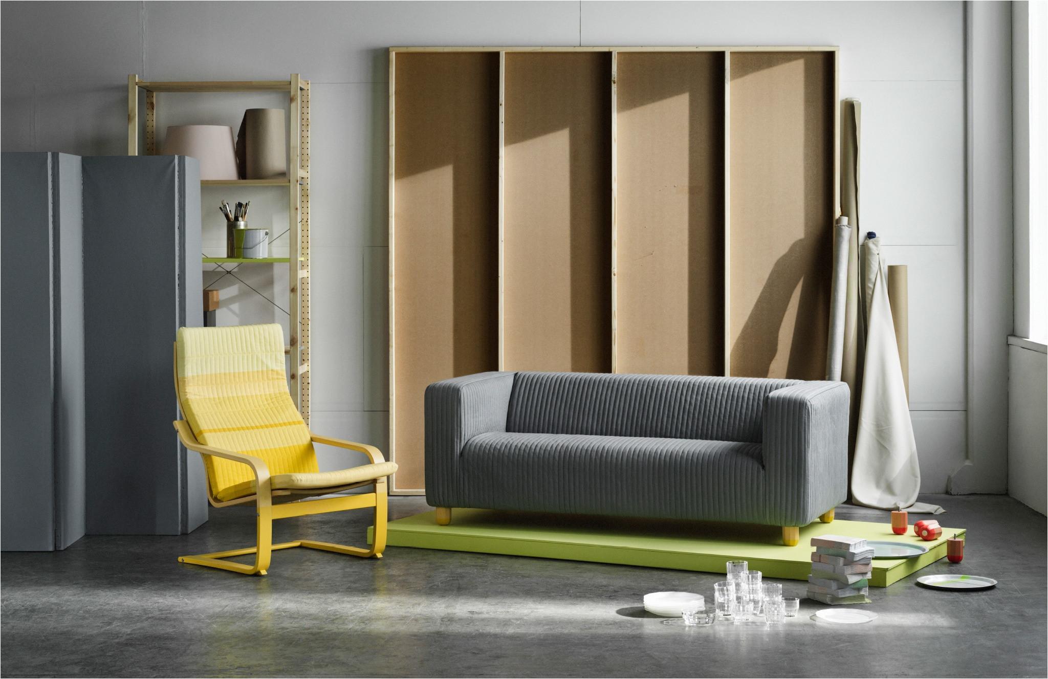 new at ikea the lyskraft collection a series of klippan sofas poa ng armchairs