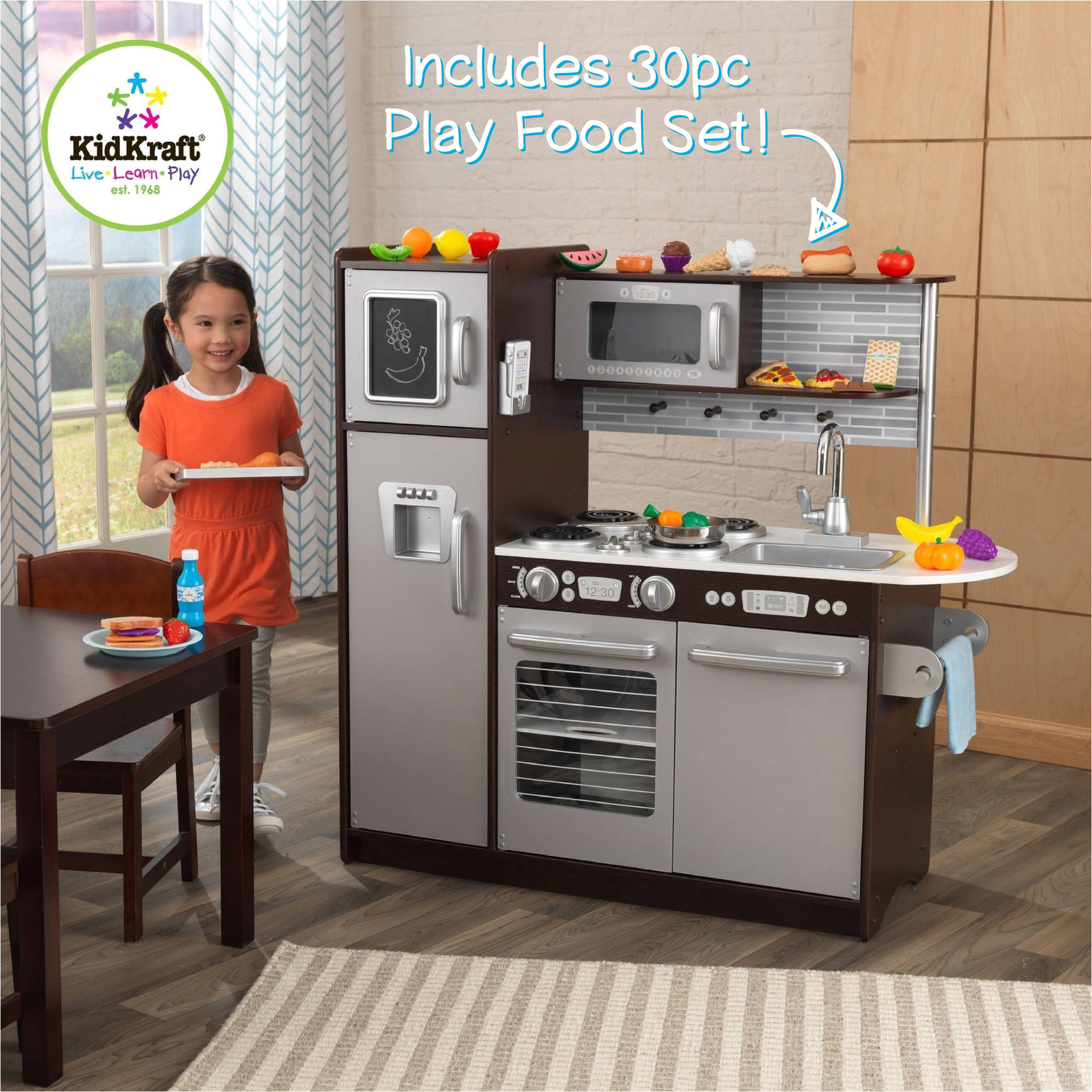 comely imaginarium all in one wooden kitchen set and toy kitchen set reviews the best toy