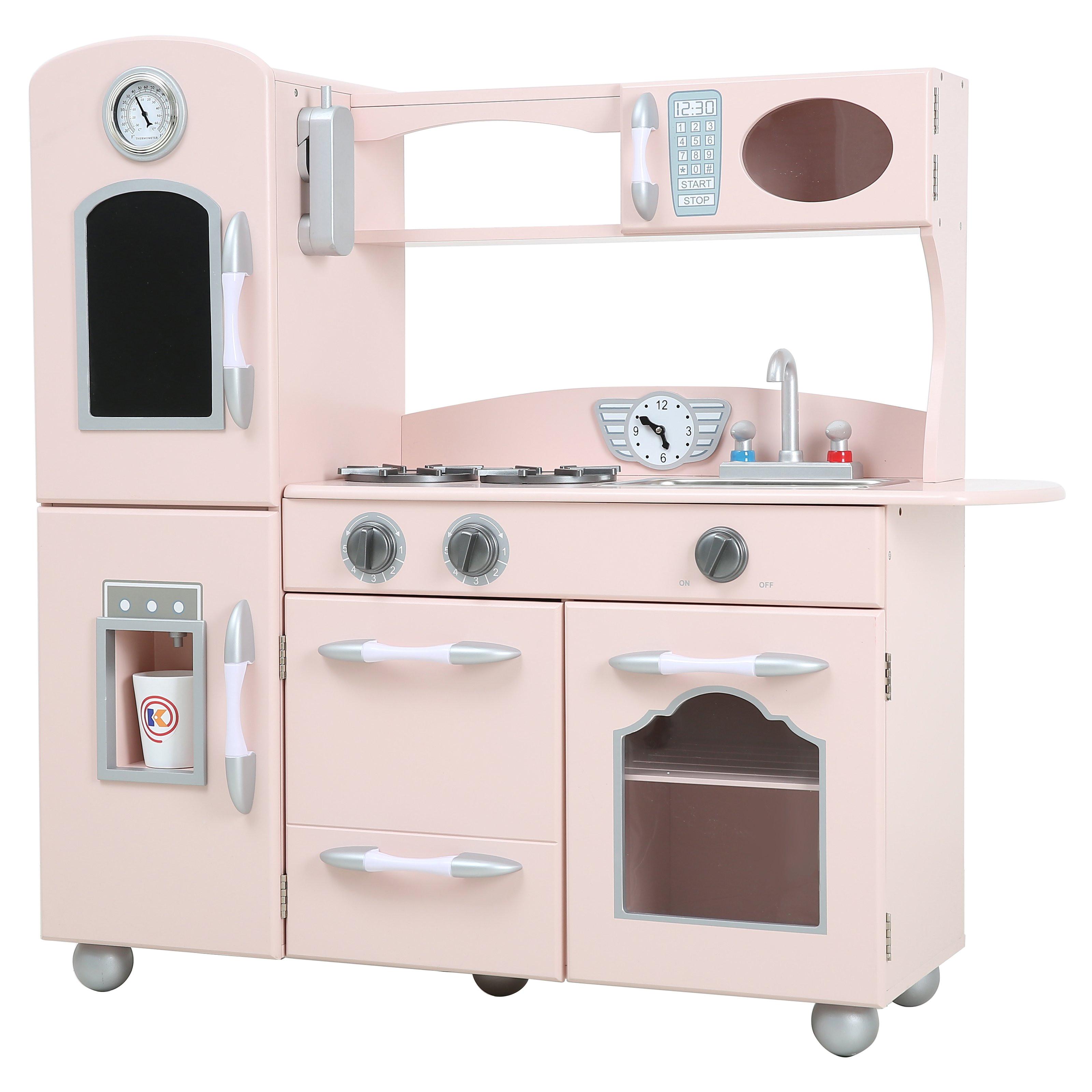 engaging imaginarium all in one wooden kitchen set in toy wood kitchen