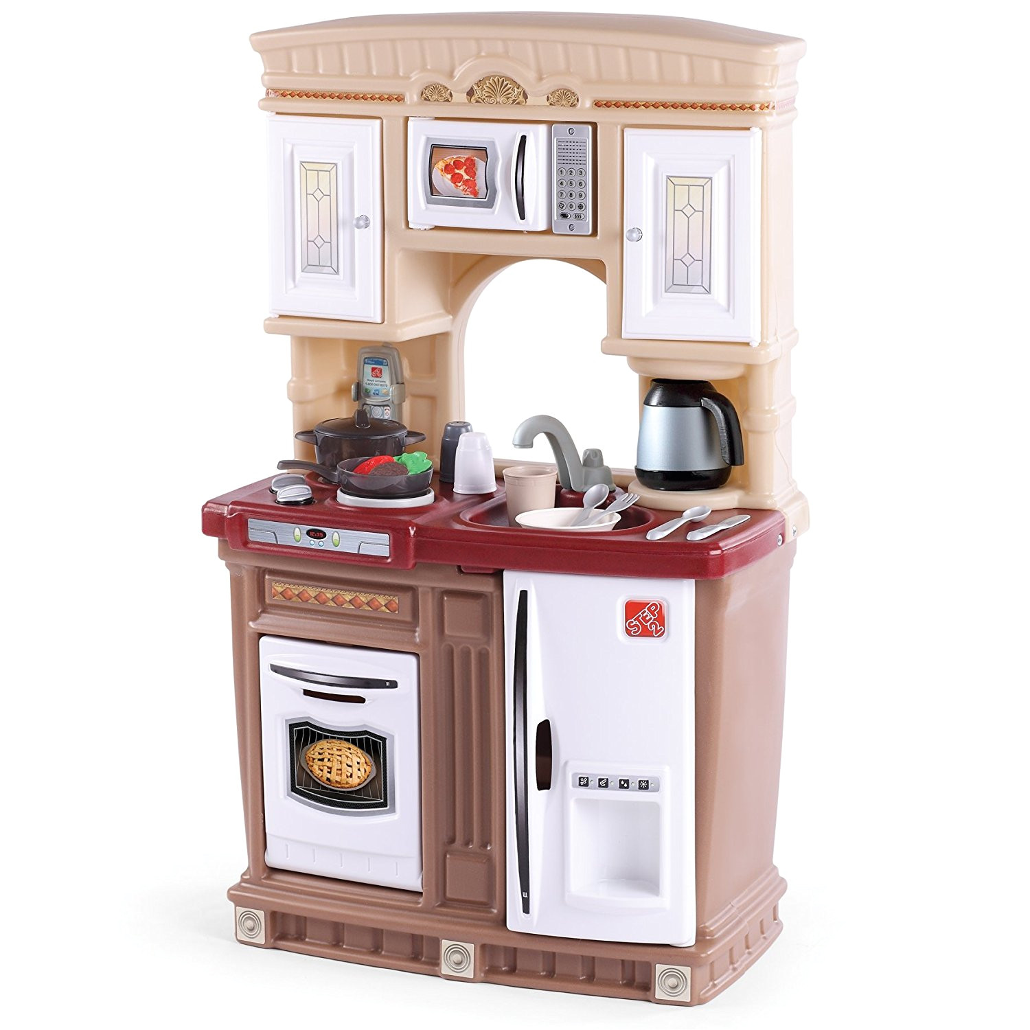 extraordinary imaginarium all in one wooden kitchen set at best toys for two year olds