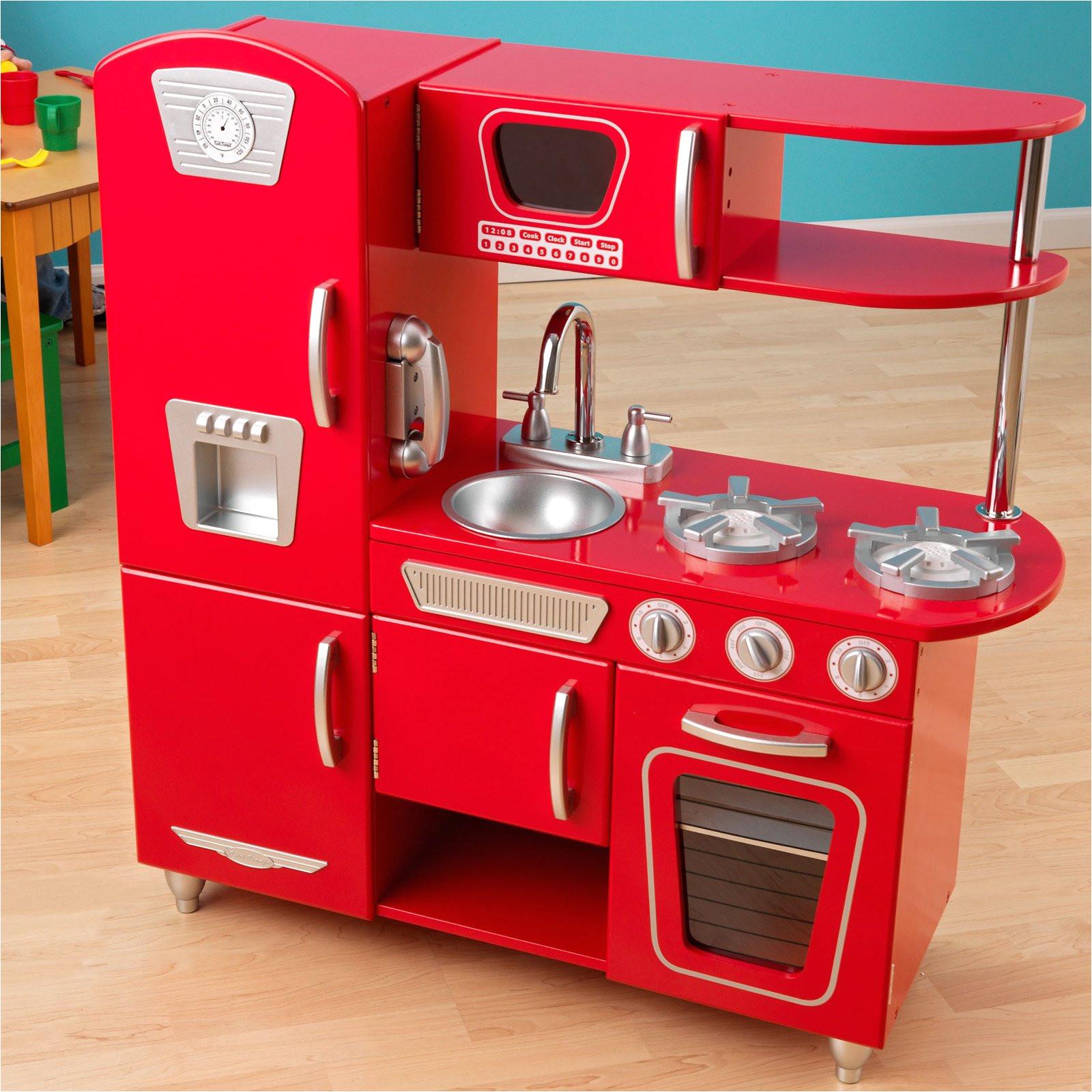 gorgeous imaginarium all in one wooden kitchen set on toy wood kitchen