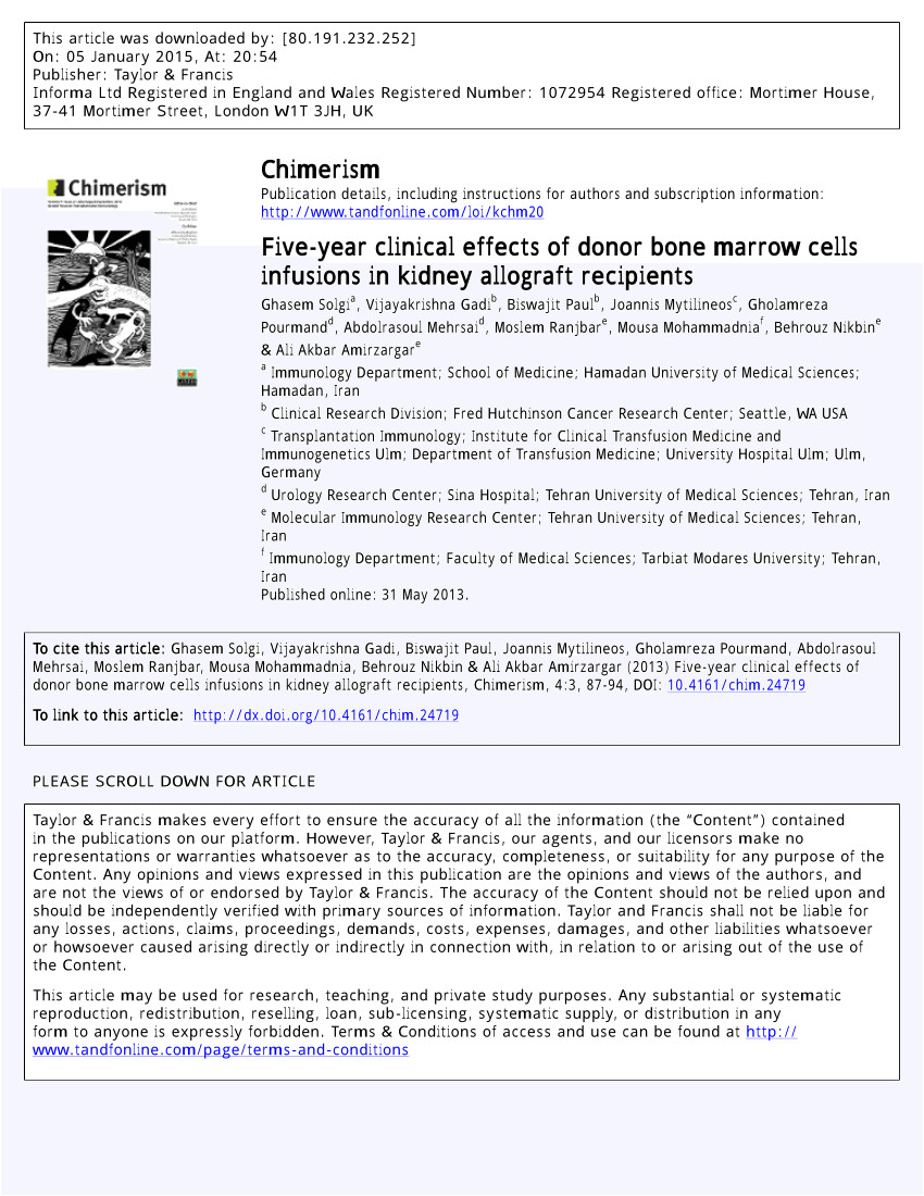 In House Financing In Beaumont Tx Pdf Effects Of Donor Specific Bone Marrow Cells Infusion On Living