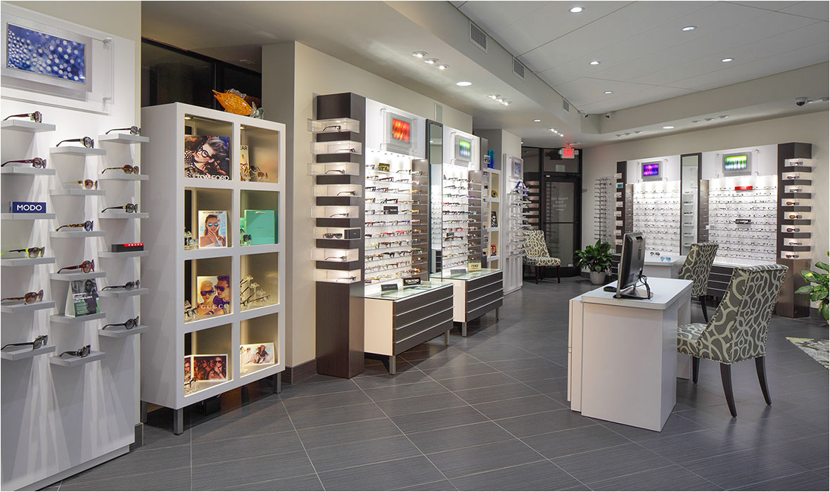 this orlando couple turned their one od practice into a thriving vision health center with a chic hi tech optical invisionmag com