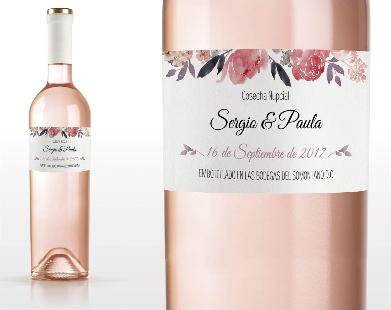 etiqueta de vino imprimible plantilla pdf sweet emotion plantilla pdf invitaciones imprimibles para bodas tarjetas de boda para imprimir desde casa