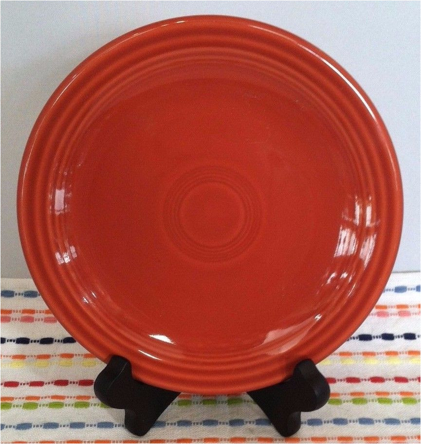 fiestaware paprika bread butter plate fiesta small burnt orange plate fiestawarefiesta