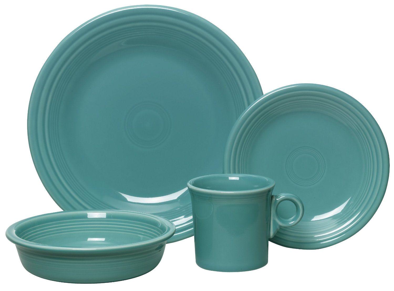 best overall fiesta 4 piece dinnerware place setting