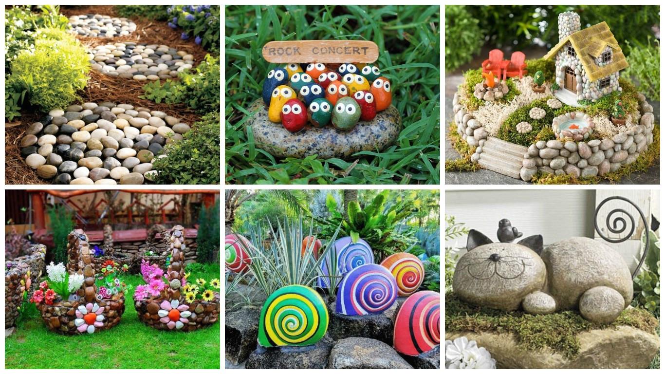 Jardines Pequeños Para Frentes De Casas Con Piedras Decorar Tu