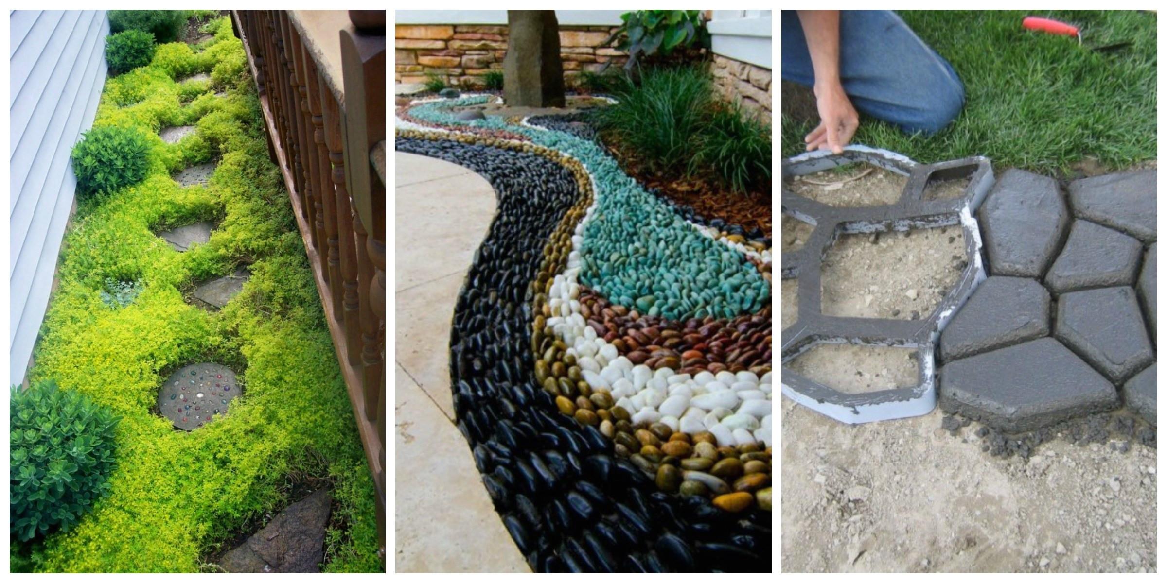 Jardines peque os para frentes de casas con piedras - Casas y jardines ...