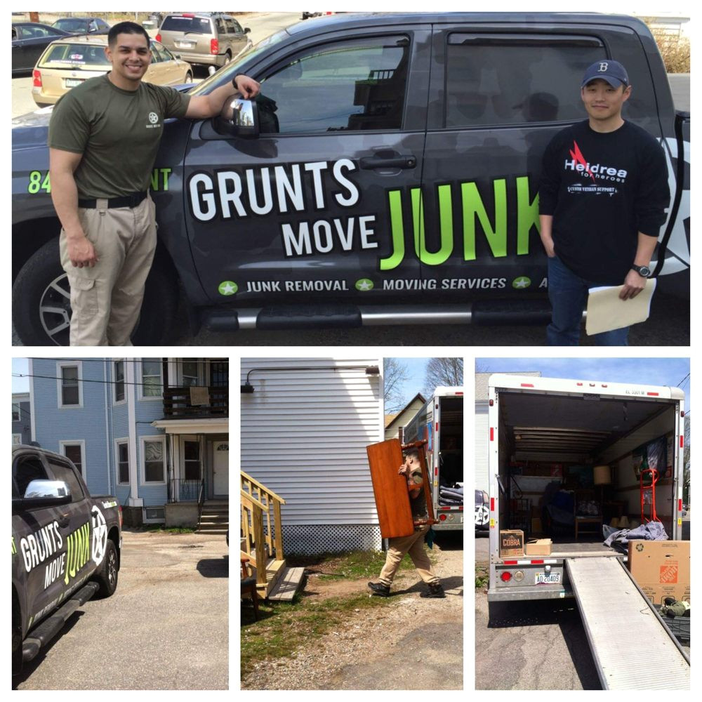 grunts move junk moving 45 photos movers 867 grafton st worcester ma phone number yelp