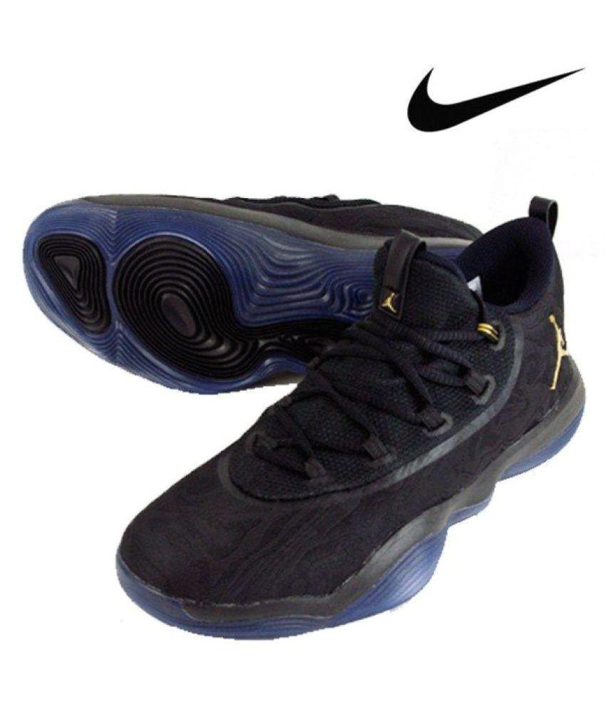 jordan 2018 super fly black basketball shoes