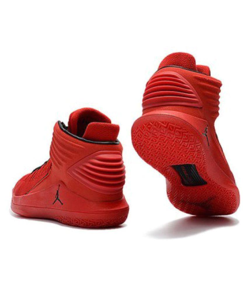 nike air jordan 32 red basketball shoes