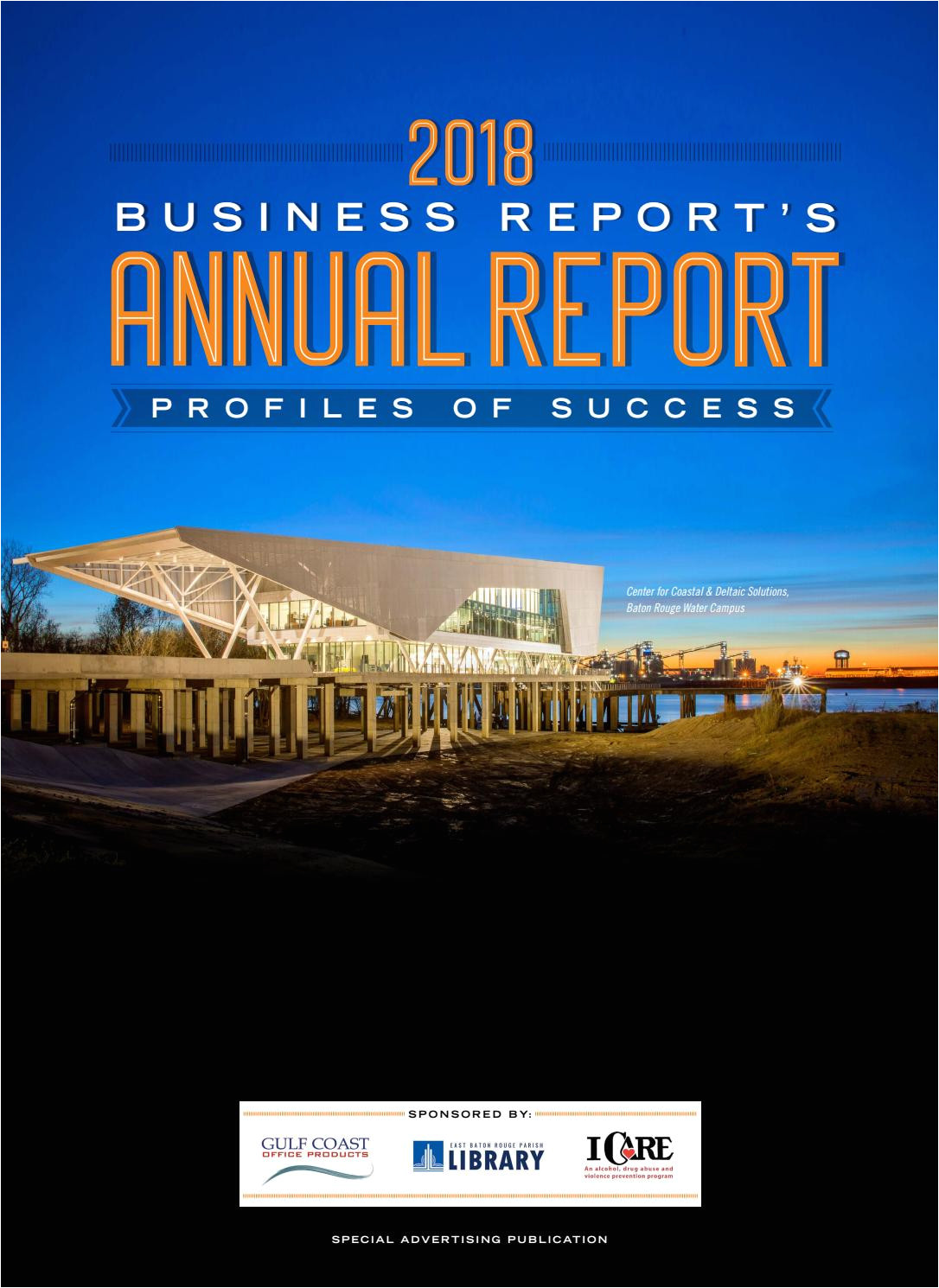 2018 baton rouge business report s annual report by baton rouge business report issuu