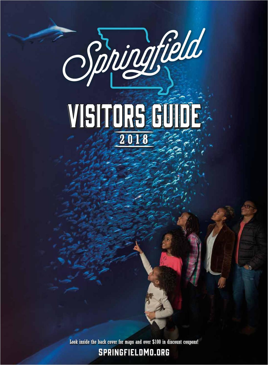 2018 official springfield missouri area visitors guide by springfield missouri convention visitors bureau issuu