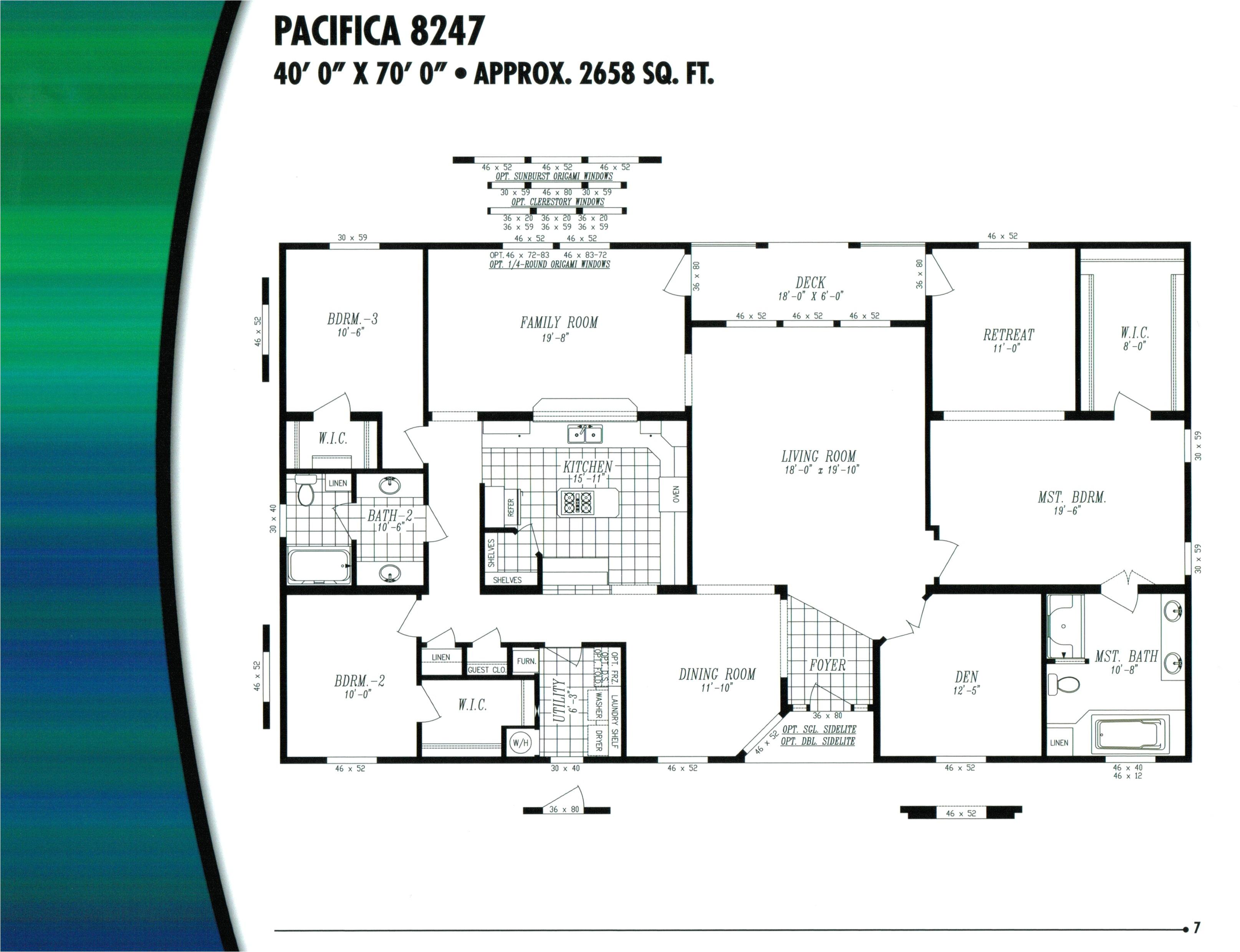 karsten homes floor plans inspirational 16 wide mobile home floor plans manufactured homes floor plans of