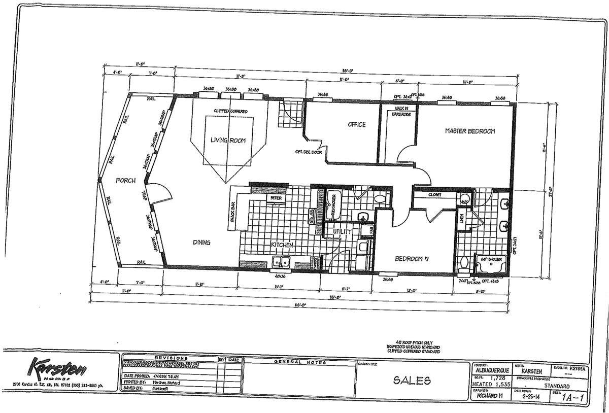 karsten homes floor plans unique k2766a prow 3 bed 2 bath 1535 sqft affordable home for