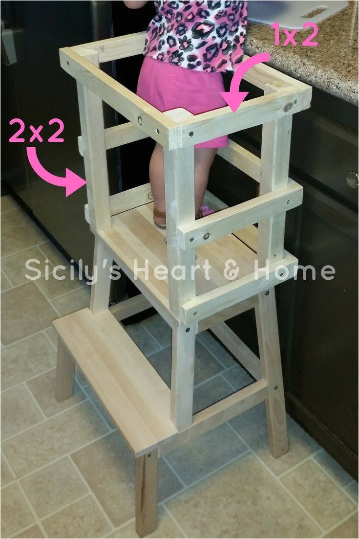 check out these simple diy learning tower plans get your kids in the kitchen with this learning tower toddlers totschool preschool preschoolathome
