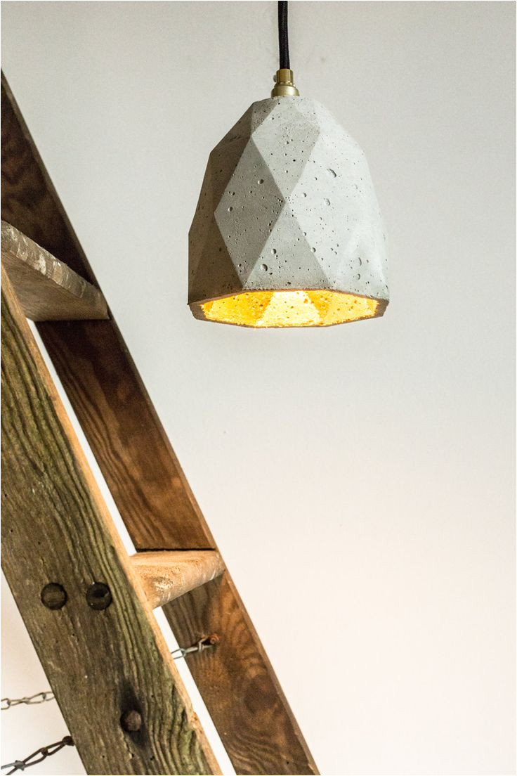 concrete hanging lamp t1 lamp failed