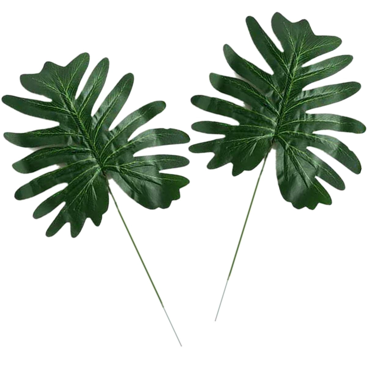 Large Fake Palm Trees for Sale Amazon Com Becor Artificial Palm Leaves Fake Greenery Leaf Plant