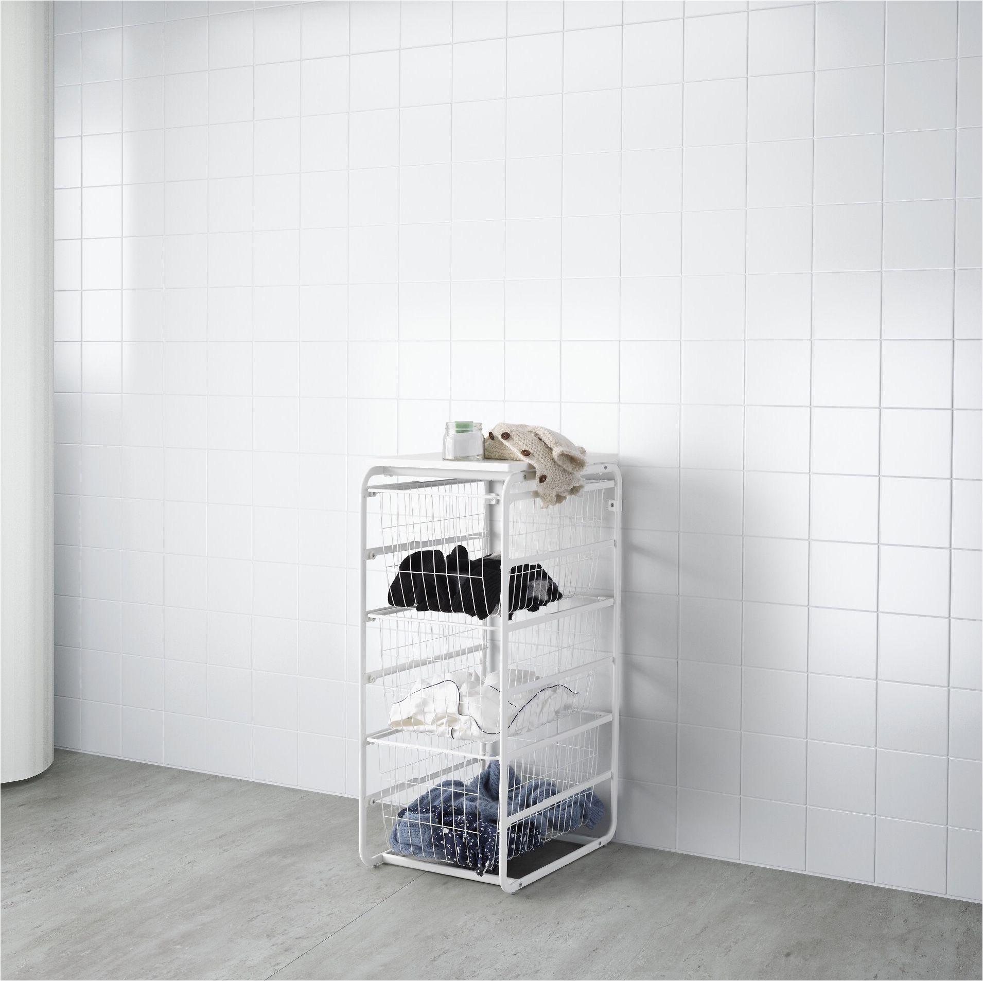 smart storage ikea algot laundry baskets laundry room wire shelves sofa