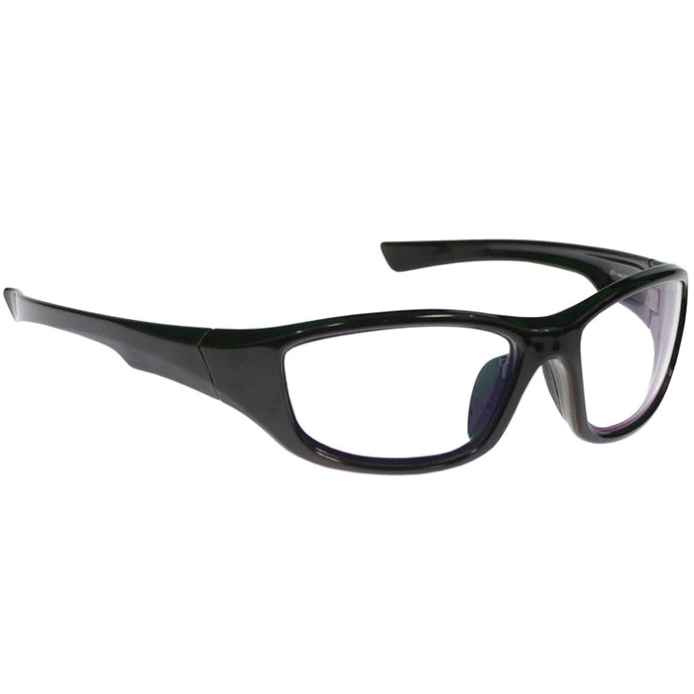 angled frame radiation eyewear