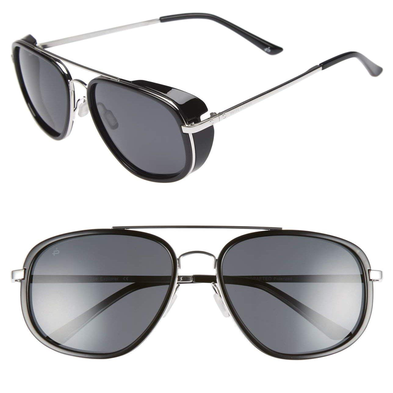 amazon com priva revaux the explorer handcrafted designer rider polarized sunglasses for men women clothing