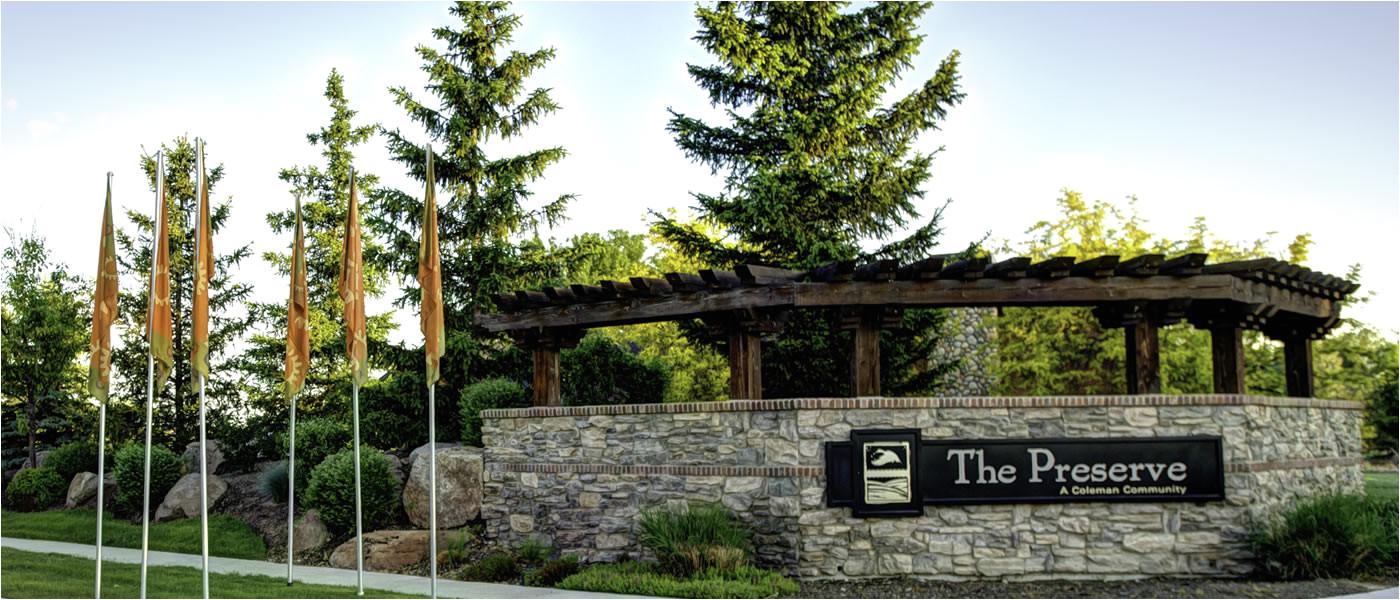 Legacy Subdivision Eagle Idaho the Preserve Subdivision Eagle Idaho
